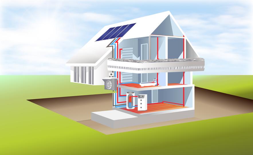 warmwasser mit einer w rmepumpe erzeugen f r heizung und brauchwasser. Black Bedroom Furniture Sets. Home Design Ideas